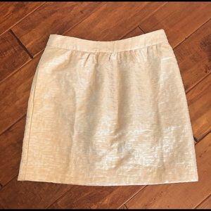 Loft Gold & Silver Skirt